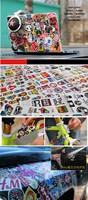 Чехол для ноутбука Laptop stickers Luggage stickers Suitcase stickers Waterproof stickers Harley Tide brand label