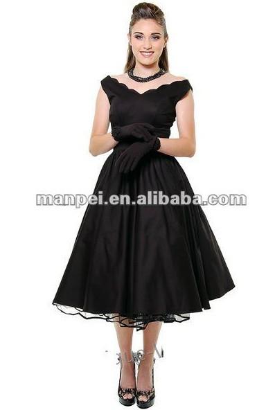 Выпускные платья в стиле 50 х