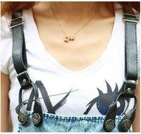 Женские джинсы hot sale 2011 women's fashion Straight strap Jeans 1pcs gift