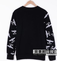 Мужской пуловер 2012 new winter BOY LONDON Quan Zhilong GD European and American fashion letter eagle couple sweater coat