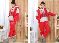 Женские толстовки и Кофты Fashion warm womens thinken hoodies suit, fleeces three-piece #8847