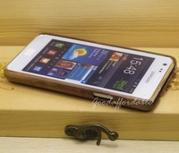 Real Genuine Black walnut Wood Hard Cover Case for Samsung GT I9100 Galaxy S2