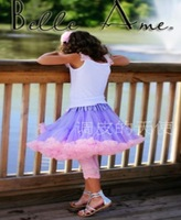 Юбка для девочек Baby Kids Girls Dancewear Cute Chiffon Tutu Pettiskirt Princess Skirt 4-5Y