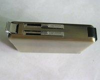 Зажигалка Copper Cigarette Case Holder Cigar Lighter Dispensers