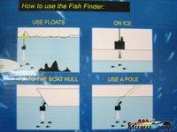 Рыболокатор Fish depth Finder 1 /lot LCD Finder 100 m AP 001