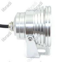 Газонная лампа 1pcs 9W 3x3W 3 LED Garden Landscape Flood Light Lamp 85-265V White 6500K / Warm White 3200K 510Lumen -Silver