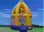 Надувной батут inflatable bouncer wholes&retail GK-BC59 clown + blower+repair kit