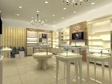 Modern jewelry store interior