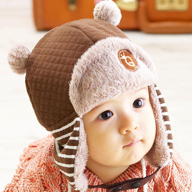 Теплая шапка для ребенка