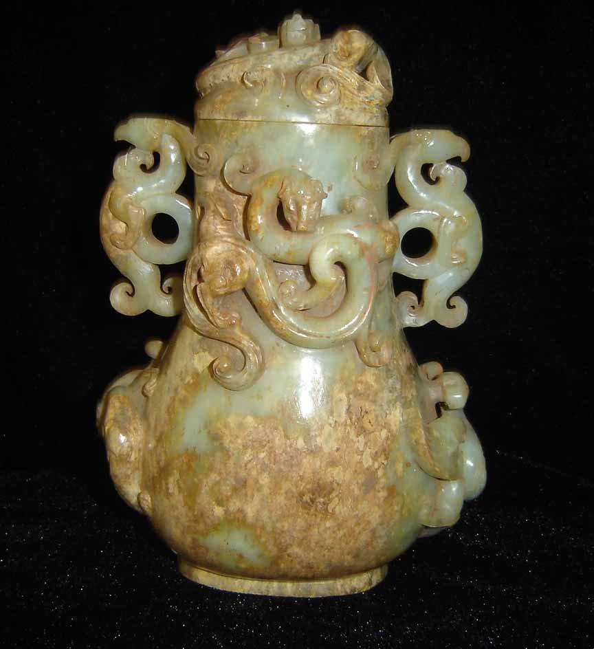 Chinese jade vases sale
