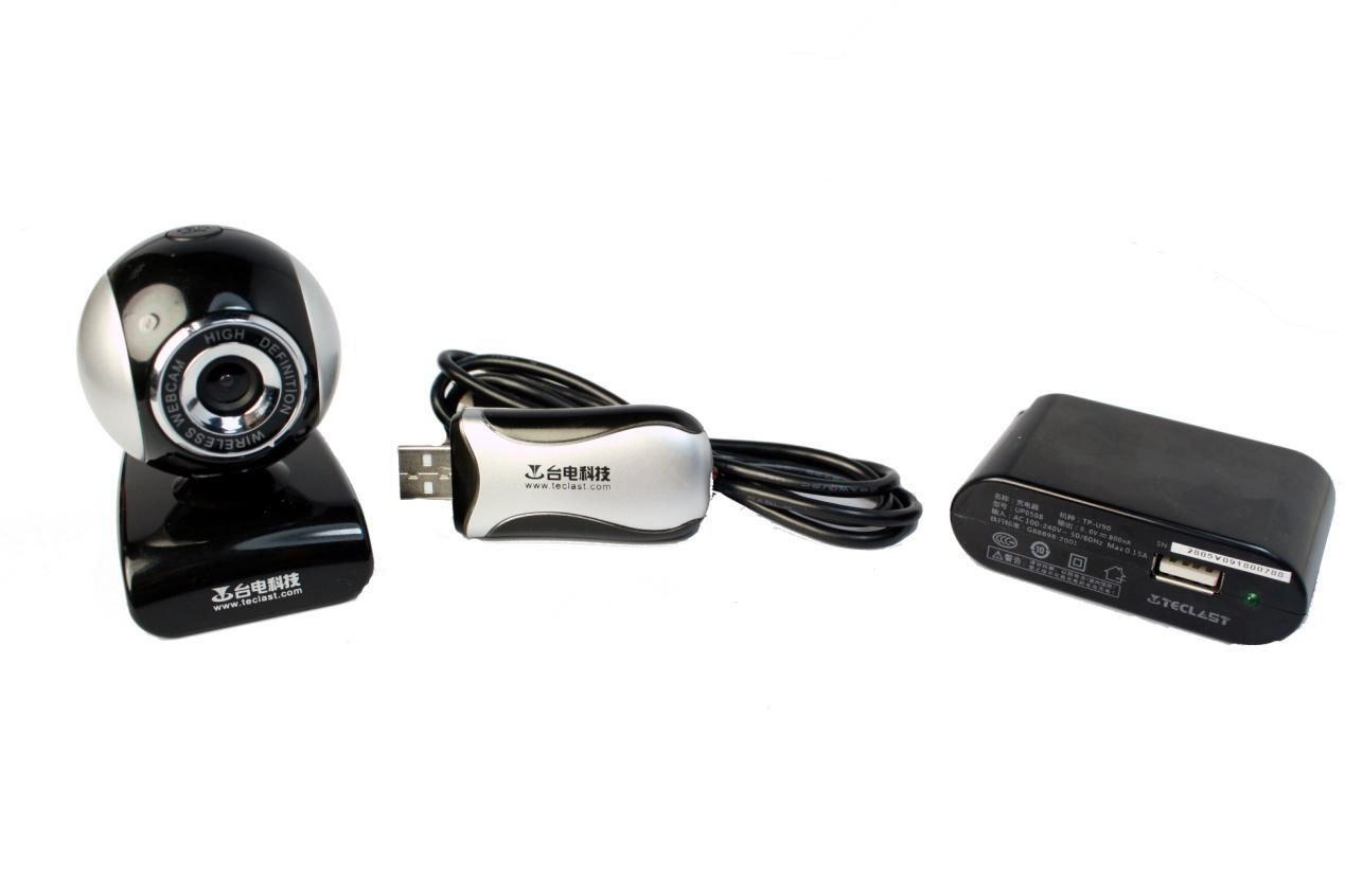 Webcam sans fil de Teclast W800, technologie 2.4GHz sans fil.