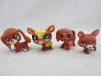 Фигурка героя мультфильма hot sale Littlest Pet Shop action figure toys doll for children 20pcs/lot
