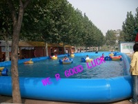 pool, Inflatable swimming equipmnt, CE pump, +Repair kit, garden water park