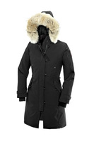 Женские пуховики, Куртки Fashion Womens long goose down jacket discount coat with fur collar