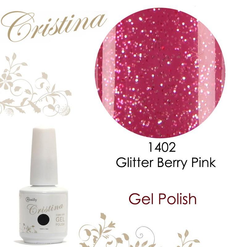 1402-Glitter Berry Pink