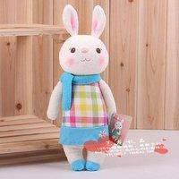 8 тирамису кроликов семьи довольно metoo кролик кукла мягкая игрушка подарок девушка день рождения настоящее детей партнеров игрушки
