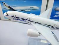 Детский набор для моделиррования B787 prototype machine aircraft model, 16cm, metal airplane models