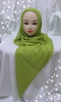Одежда народов Индии и Пакистана MS283 2010 newest style beautiful embroidered square islamic scarf
