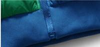 Мужской пуховик 2013 New Adida men's autumn and winter leisure jacket warm coat winter jackets for man casual fashion fur brand nach nuten mens