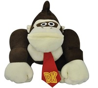 Super Mario Bros Plush Toy Donkey Kong 9 inches Figure Cute