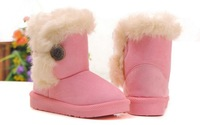 Детские ботинки 2013 hot new winter snow boots suede baby cotton thick padded non-slip baby toddler shoes warm boots fashion shoes kids