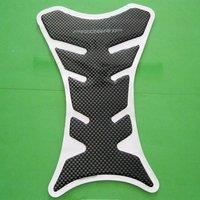 Free Shipping Motorcycle Carbon Fiber Tank Pad TankPad Protector BLK