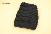 Wholesale 2014 fashion  warm Knitting wool women cap hat crochet Dual Use,3color shawl!