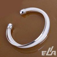 Ювелирные изделия оптом HOT 925 sterling silver Cuff Bracelets Mesh Bangle Fashion Jewelry