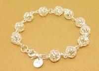 Браслет из серебра new fashion jewelry, hollow ornaments bracelet for women DSC1160