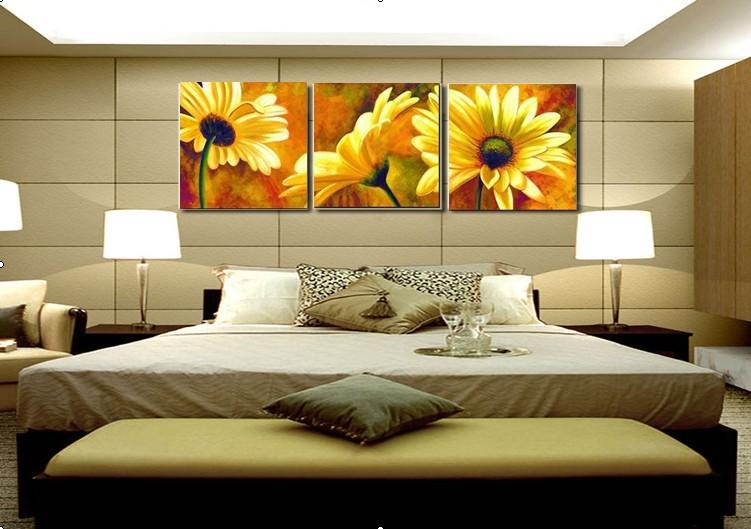 Gr tis frete a verdadeira arte bonito pintado m o - Pintar un cuadro moderno ...