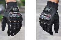 Перчатки для мотоциклистов 3 Colors Motorcycle Bike Racing Riding Protective Gloves M/L/XL/XXL Full Finger Half Finger