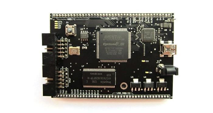 Free Shipping!  1pc  CycloneIII EP3C10E144C8N ALTERA USB  FPGA development board SOPC core board