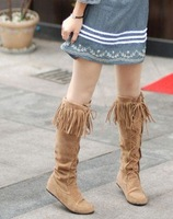 2010 New Women boots free shipping knee boot 33D/
