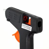 Принадлежности для ванной комнаты Top Electric Tool Hot Melt Glue Gun 20 WATTS Trigger Mini Black Heating Brand#8633