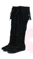 Женские ботинки 2010 New Women boots knee boot 33D