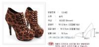 Туфли на высоком каблуке Nibbuns faves Sexy Leopard Domineering rivets High heel Hedgehog Dance club shoes m24