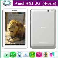 Планшетный ПК 7/ainol Novo Eos 7, 3G Android 4.0 GPS Bluetooth HDMI WCDMA 16 rom.Bluetooth Android Ainol Novo7 EOS