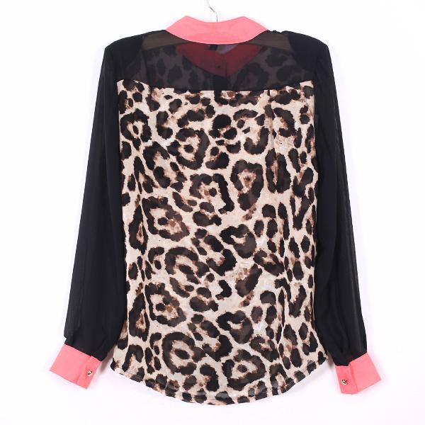 Леопардовая Блузка С Доставкой