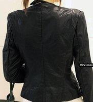 Кожа и замша куртка jk001