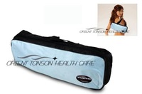 massage belt with HEATING function hot selling, vibration slimming belt shown on TV with free gift, free shipping