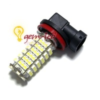 Источник света для авто 2pcs/lot Fog lamp H11 102 SMD 3528 Car LED White LIGHTs fog bulb BULB FOG LIGHT 12V