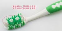 10pcs/много чистой резинки покрытие на язык движений массаж тип зубной случайный цвет взрослых зубную щетку