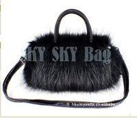 Сумка Drop/! HOT! Fashion plush fur bag cute bags fashion handbags tote bags and retail SK13