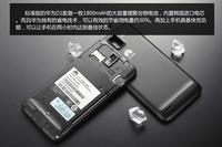 Original U9500 Huawei Ascend D1 U9500 Smartphone Android 4.0 RAM 1GB ROM 8GB Dual Core 1800mAh Singapore Post Free Shipping