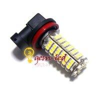 Источник света для авто 2pcs/lot Fog lamp H11 102 SMD 3528 Car LED White LIGHTs fog bulb BULB FOG LIGHT 12V