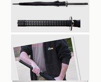 Factory Price 50PCS/LOT Wholesale Japanese Samurai Ninja Katana Umbrella Black Mito Umbrella Umbrella Samurai Sword