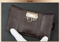подлинный держателя ключа прекрасный сладкий персик сердца г-жа g.z коровьей подлинной кожа/gz01