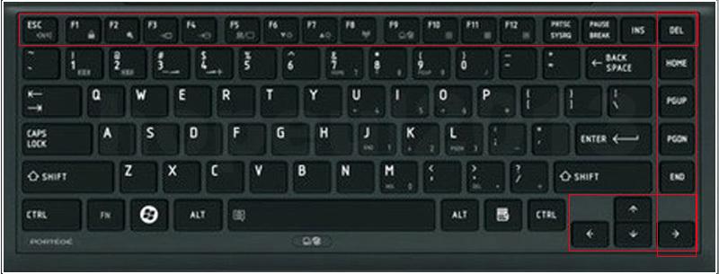 Как сделать скриншот на ноутбуке windows 10 тошиба