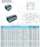 Линейный подшипник 4 PCS/LOT, CNC Guide Bushing SC16UU SCS16UU Linear Motion Ball Bearing, Linear Slide Bearings, Linear Ball Bearing #030100