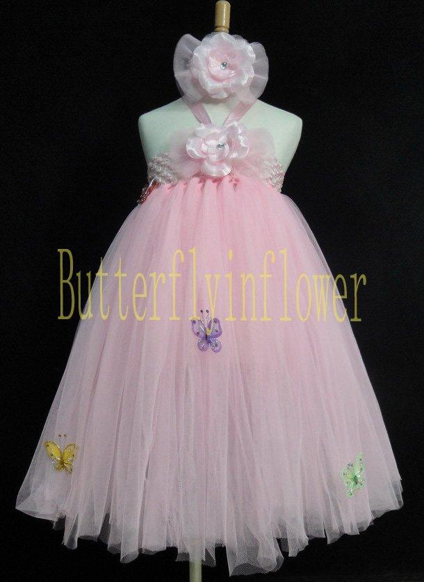 custom tutu dress floor length fairy party wedding pageant skirts match